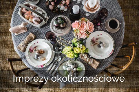 Przyjęcia zaręczynowe, rocznice, zjazdy rodzinne, świąteczne kolacje oraz inne wydarzenia, które chcesz celebrować w wyjątkowy sposób.